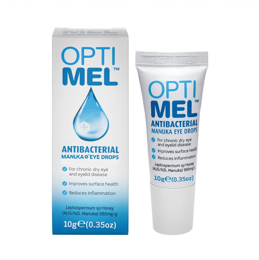 optimel antibacterial manuka eye gel get contact lenses online. Black Bedroom Furniture Sets. Home Design Ideas